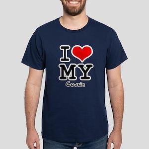 I love my cousin Dark T-Shirt