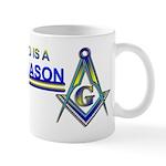 Masonic Coffee Mug for Dad.