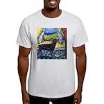 hungry ROTTWEILER begs Ash Grey T-Shirt