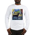 hungry ROTTWEILER begs Long Sleeve T-Shirt