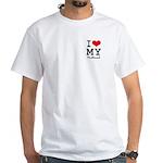 I love my husband White T-Shirt