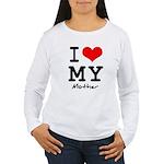 I love my mother Women's Long Sleeve T-Shirt