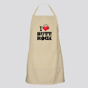 I love butt rock BBQ Apron