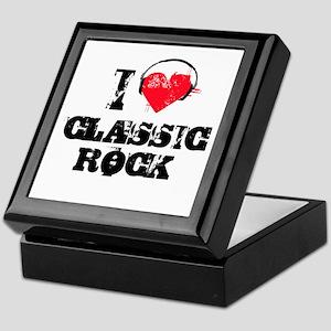 I love classic rock Keepsake Box
