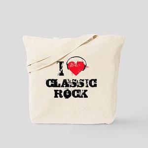 I love classic rock Tote Bag
