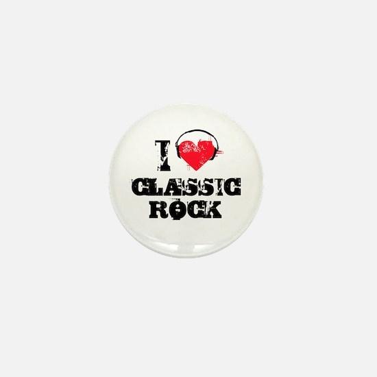 I love classic rock Mini Button