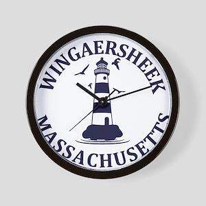 Summer Wingaersheek- massachusetts Wall Clock