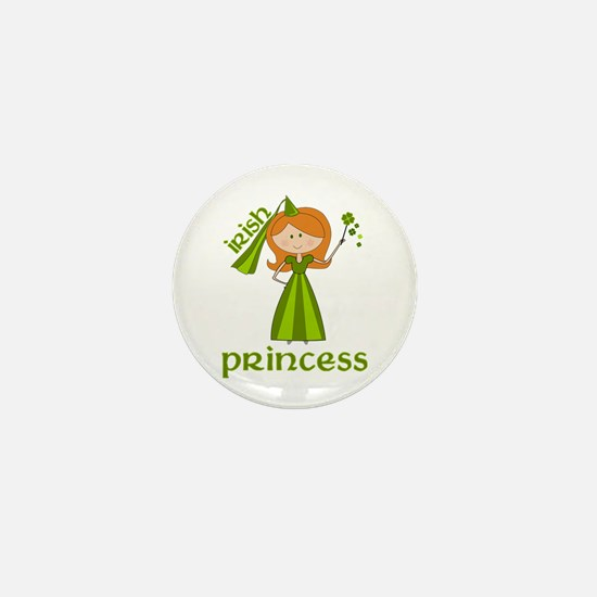 irish princess Mini Button