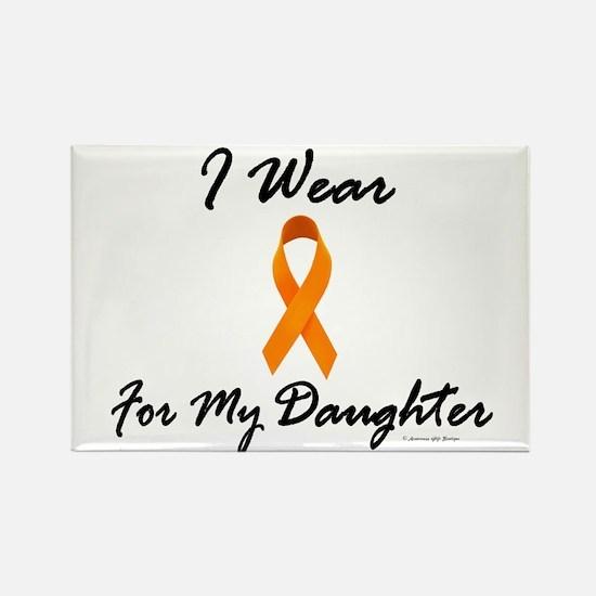 I Wear Orange For My Daughter 1 Rectangle Magnet