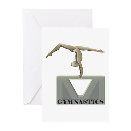 Women's Gymnastics Greeting Cards (Pk of 10)