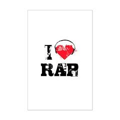 I love rap Posters