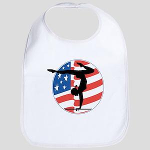 U.S.A Gymnastics Bib