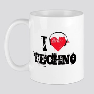 I love techno Mug