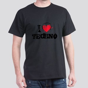 I love techno Dark T-Shirt