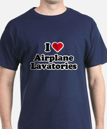 I love airplane lavatories T-Shirt