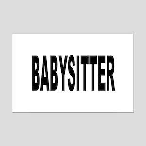 Babysitter Mini Poster Print