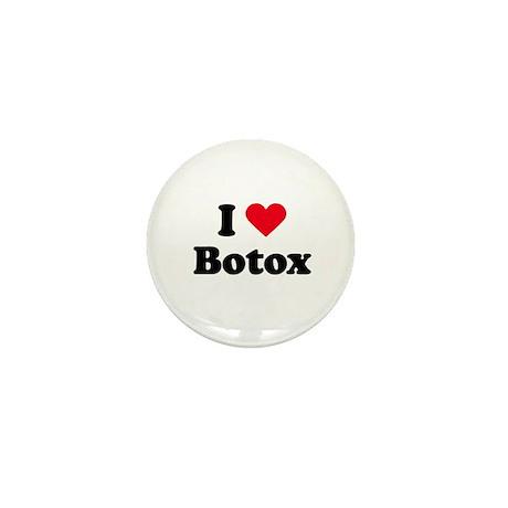 I love botox Mini Button