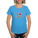 I love cuddling Women's Dark T-Shirt