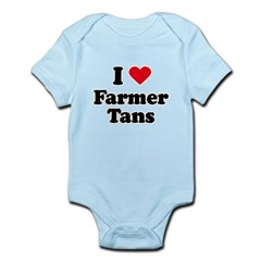 I love farmer tans Infant Bodysuit