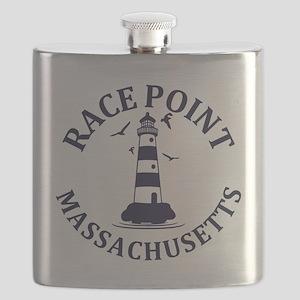 Summer Race Point- massachusetts Flask