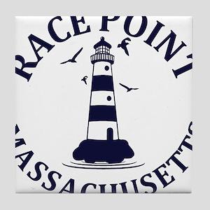 Summer Race Point- massachusetts Tile Coaster
