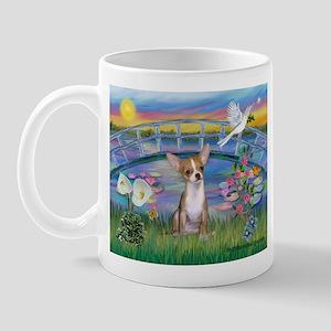 Lilies/Chihuahua Mug