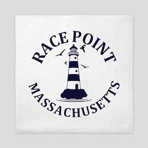 Summer Race Point- massachusetts Queen Duvet