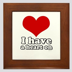 I have a heart on Framed Tile