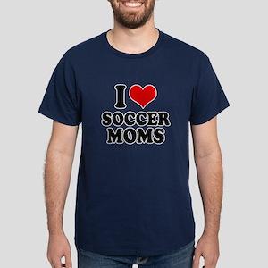 I love soccer moms Dark T-Shirt