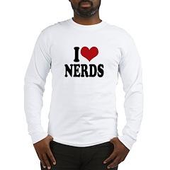 I love nerds Long Sleeve T-Shirt