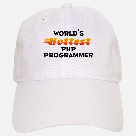 World's Hottest PHP P.. (B) Baseball Baseball Cap