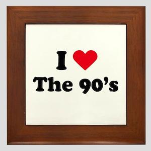 I love the 90s Framed Tile