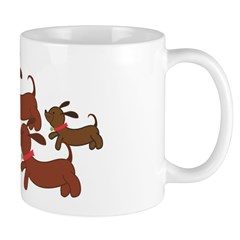 Dachsund Cartoon Mug