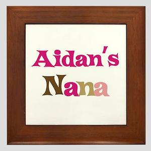 Aidan's Nana Framed Tile