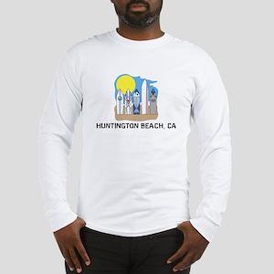 Huntington Beach California Long Sleeve T-Shirt