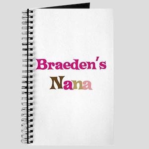 Braeden's Nana Journal