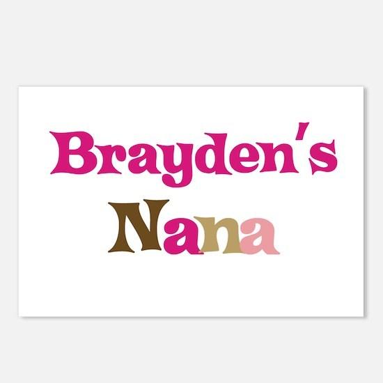 Brayden's Nana Postcards (Package of 8)