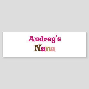 Audrey's Nana Bumper Sticker