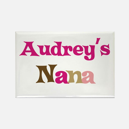 Audrey's Nana Rectangle Magnet