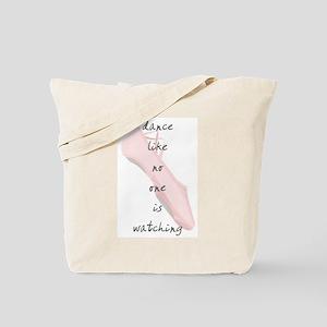 Ballet Slippers Tote Bag