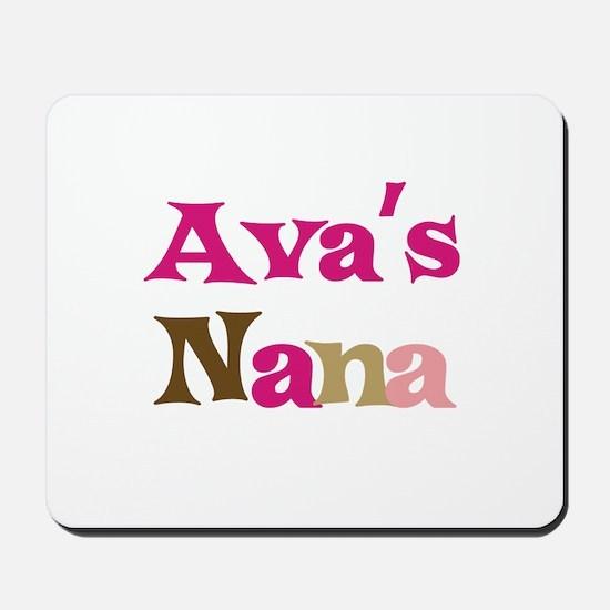 Ava's Nana Mousepad