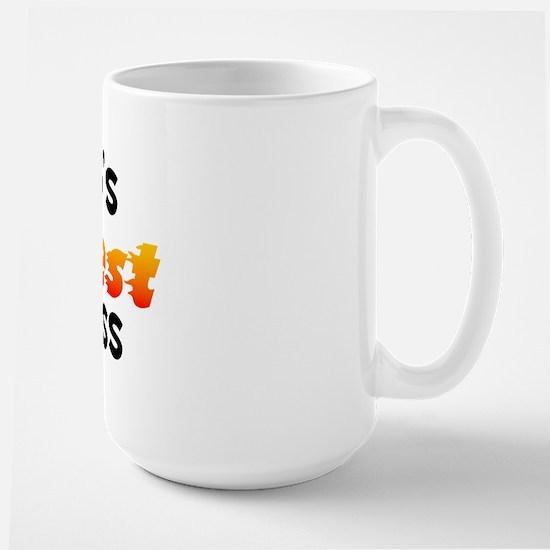 World's Hottest Pit B.. (B) Large Mug