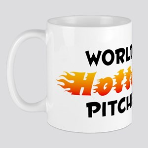 World's Hottest Pitcher (B) Mug