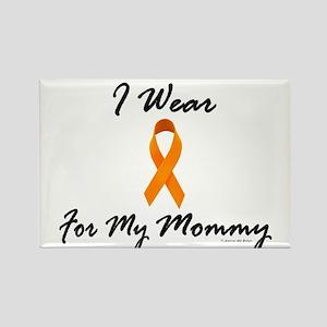 I Wear Orange For My Mommy 1 Rectangle Magnet