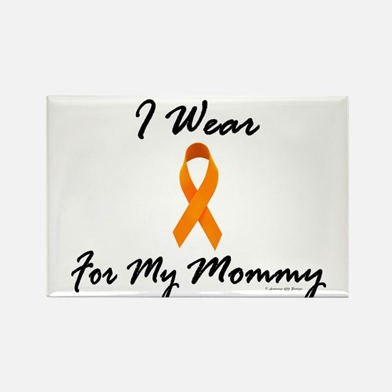 I Wear Orange For My Mommy 1 Rectangle Magnet