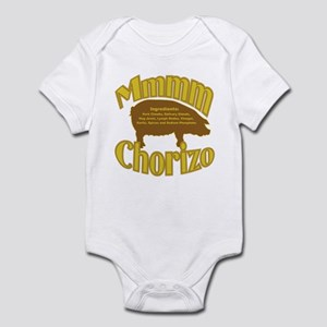 Mmmm Chorizo - Tan/Brown Infant Bodysuit