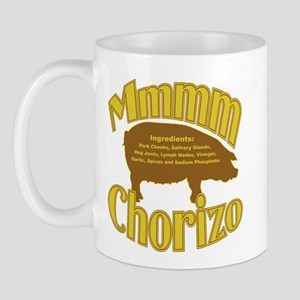 Mmmm Chorizo - Tan/Brown Mug