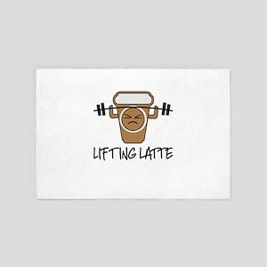 Lifting Latte 4' x 6' Rug