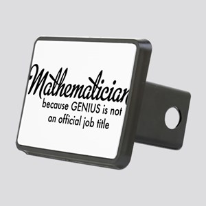 Mathematician Rectangular Hitch Cover