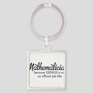 Mathematician Keychains